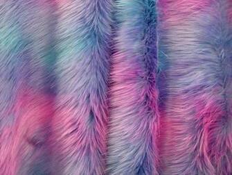 Fun Shag Shaggy Bubble Fake Faux Fur Fabric by the Yard