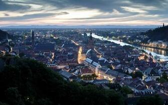 cityscapes Germany Heidelberg wallpaper background