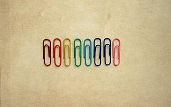 Paperclip Rainbow Desktop Wallpaper Wallpaper Desktop Pics
