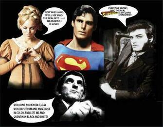 Superman in the world of Dark Shadows