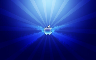 Blue Apple Laptop Wallpaper on this Cool Laptop Wallpapers website