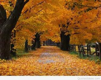 Happy first day of Autumn quotes images and wallpapers