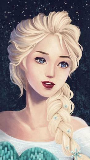 2015 Frozen iPhone 6 wallpaper will be hot in Halloween   Fashion Blog