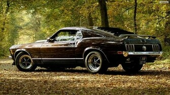 High Resolution Classic Muscle Car Ford Mustang Wallpaper HD 8