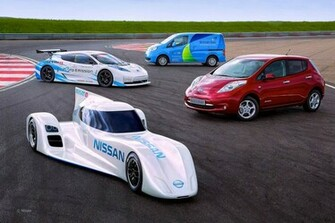 World Fastest Electric Car 2015 Nissan ZEOD RC Car Review Wallpapers