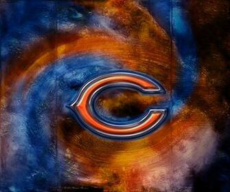 Wallpapers By Wicked Shadows Chicago Bears 3D Logo Wallpaper