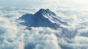 Images Beautiful pictures Mytikas looming above the clouds