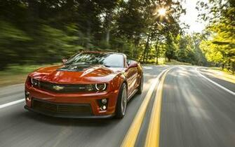 2014 Chevrolet Camaro ZL1 Convertible Wallpaper HD Car
