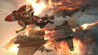 Warhammer 40K Wallpaper 1920x1080 Warhammer 40K Space Marines Orks