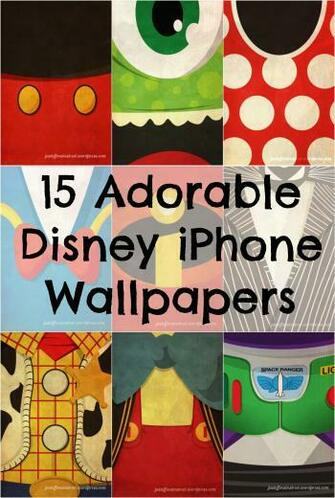 15 Iconic Disney Characters as iPhone Wallpapers Babble