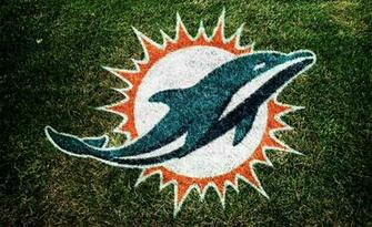 Dolphins New Logo on grass   Blogs   ThePHINScom   Miami Dolphins