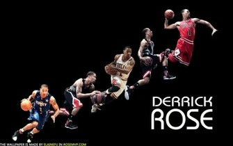 chicago bulls derrick rose wallpaper by ElaineFu
