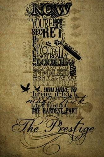 The Prestige iPhone Wallpaper HD
