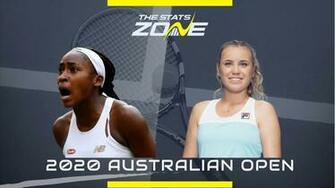 2020 Australian Open Coco Gauff vs Sofia Kenin Preview