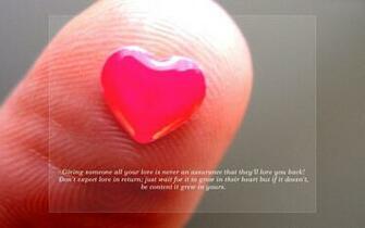Love Quotes HD Wallpaper of Love   hdwallpaper2013com
