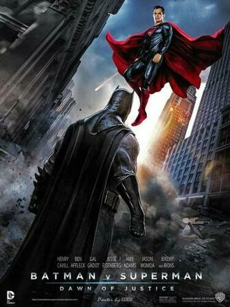 MOVIE TRAILERS  images Batman vs Superman Dawn Of Justice Poster
