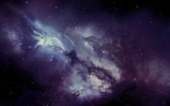 Deep Purple Space Cool Wallpapers