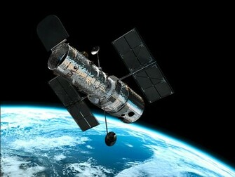 Hubble in orbit ESAHubble