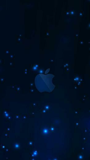 Apple blue wallpapersc SmartPhone