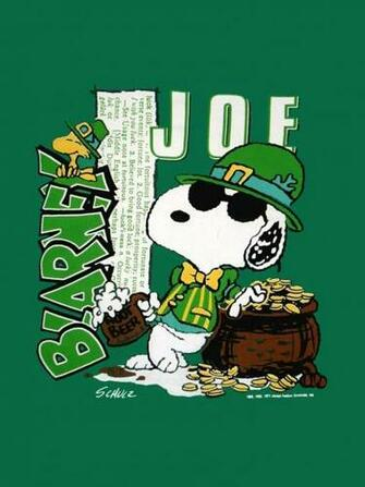 download Snoopy St Patricks Day Wallpaper Joe blarney st