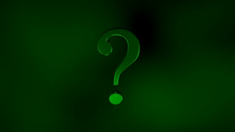 The Riddler Question Mark Wallpaper Question by darthostrich