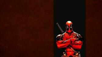 Red Wade wilson Marvel Band Wallpaper Background 4K Ultra HD