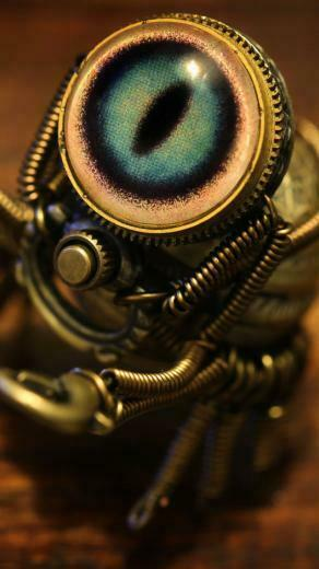 Steampunk Crab Wallpaper   iPhone Wallpapers