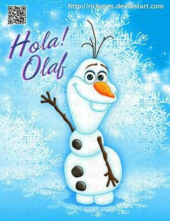 Hola Olaf Frozen Disney by Richmen
