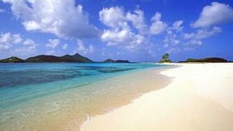 1366x768 Calm Exotic Beach desktop PC and Mac wallpaper