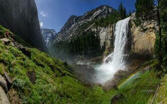 Vernal Fall Yosemite National Park Wallpapers HD Wallpapers
