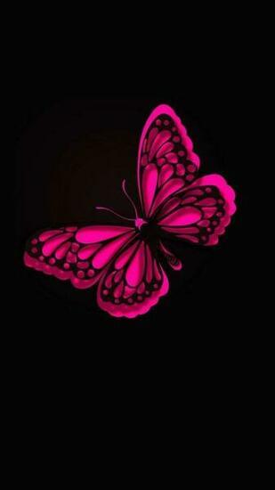 iPhone Wallpaper HD Pink Butterfly Best HD Wallpapers