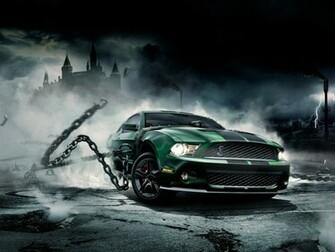 Cool Muscle Car Wallpaper