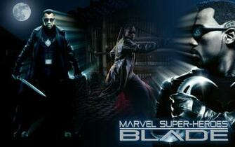 marvel super heroes blade wallpaper