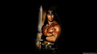 Conan the Barbarian Wallpaper Conan Red Sonja Wallpaper 1280x720