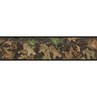 RoomMates Mossy Oak Camouflage Peel and Stick Border   Walmartcom