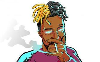 Wallpaper Music XXXTentacion Art Smoke picture HD photo