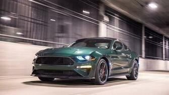 2019 Ford Mustang Bullitt Wallpapers HD Images   WSupercars