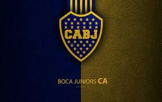 Download wallpapers Club Atletico Boca Juniors 4k logo La Boca