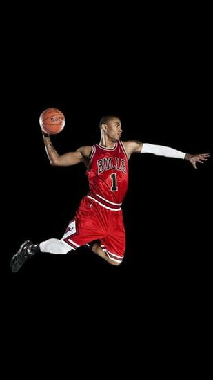 Chicago Bulls Derrick Rose iPhone 6 HD Wallpaper iPod