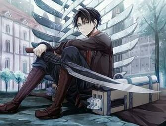 Leviattack on titan   Levi Rivaille Shingeki no Kyojin Fan Art