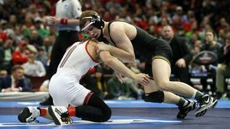 Humble off the Mat Animal on the Mat   University of Iowa Athletics