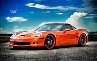 Corvette Z06 on 360 Forged Wheels Wallpaper HD Car Wallpapers