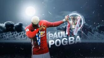 Paul Pogba Manchester United Wallpaper by Mackalbrook