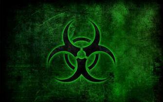 Biohazard symbol wallpaper 10778