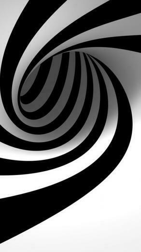 Black And White Swirl iPhone 6 Wallpaper Download iPhone Wallpapers