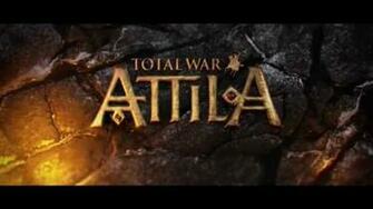 Total War Attila wallpaper logo nat games