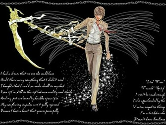 Light Yagami Wallpaper WallpapersDeath Note Wallpapers Pictures