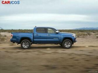 2016 Toyota Tacoma   Side HD Wallpaper 6 1920x1080