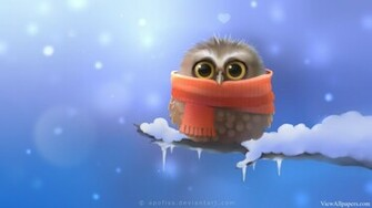 Cute 3D Owl High Resolution download Cute 3D Owl For PC