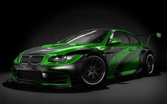 Cool Green And Black Cars Exotic green black colour